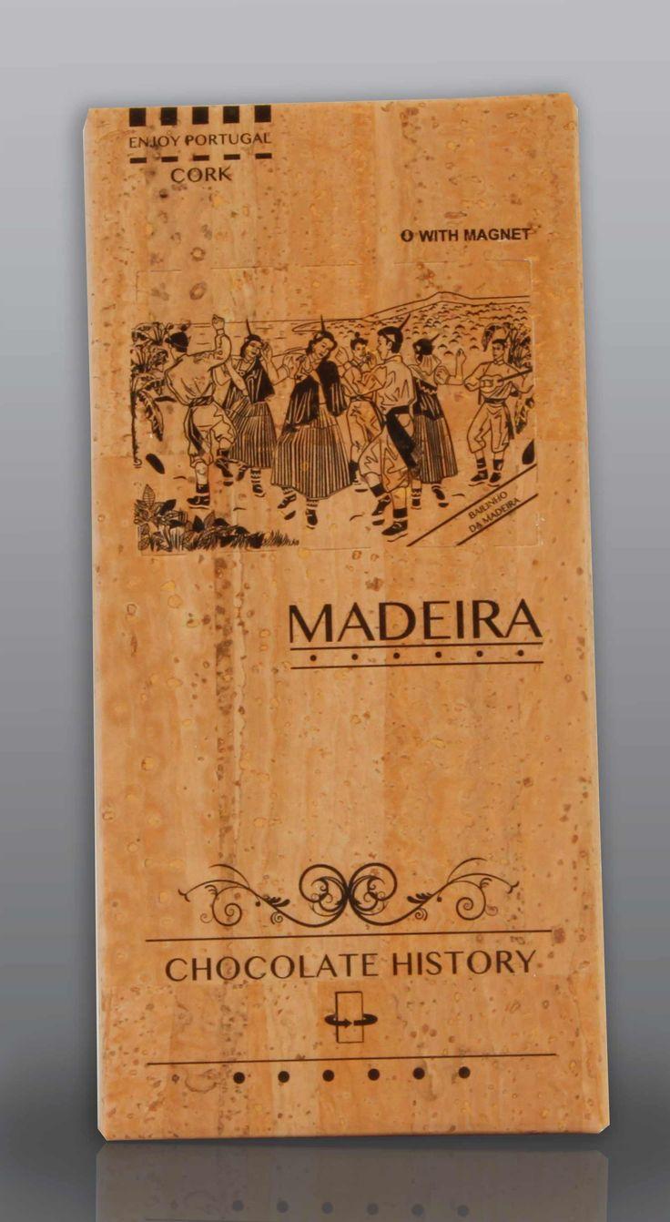 Madeira | Bailinho da Madeira  | Chocolate Negro 48% Cacau 125 g