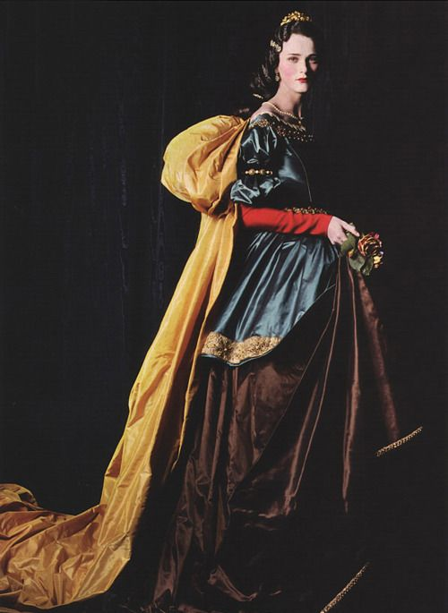 """Divine Inspiration"" by Michael Thompson for Vogue US - Santa Casilda by Zurbarán?"