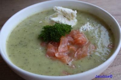 Gezond leven van Jacoline: Courgette soep