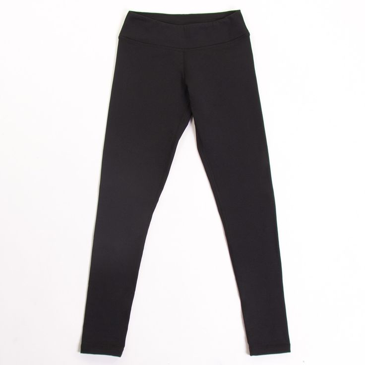 fleece-lined leggings - perfect for all your ice time