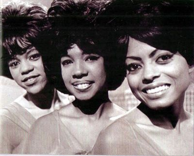 Supremes (left to right: Florence Ballard, Mary Wilson, and Diana Ross) in 1965