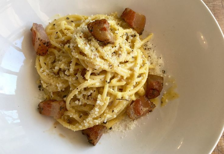 Lessons from the school of spaghetti carbonara · Acquired Tastes · The A.V. Club