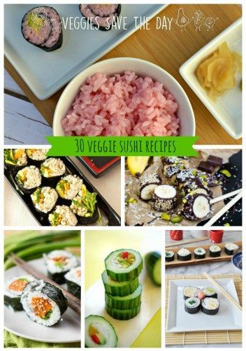 From rolls to bowls, from rice to millet, if you like veggie sushi, this roundup of recipes from some of the best vegan food bloggers is for you! Get these recipes when you visit http://www.veggiessavetheday.com, or pin and save for later! (scheduled via http://www.tailwindapp.com?utm_source=pinterest&utm_medium=twpin&utm_content=post61071186&utm_campaign=scheduler_attribution)