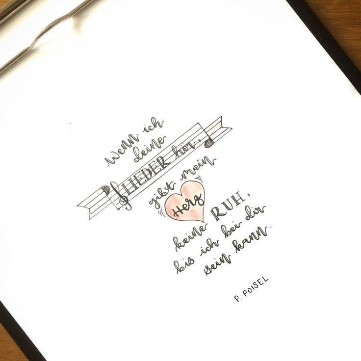 Der letzte Tag der #deutschemusikpoeten -#challenge mit #philipppoisel. Vielen Dank @deutschelyrik @glueckskind_75 @unakritzolina für eure Arbeit - es hat Spaß gemacht und ich freue mich auf die Musikpoeten im Juni. ☺️ #lettering #letteringchallenge #letteringpractice #letteringlove #ilovelettering #handlettering #handlettered #inspiration #moderncalligraphy #calligraphy #brushpencalligraphy #calligraphypractice #typography #brushpenlettering #instatype #philipppoisel #music…