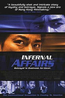 Infernal Affairs. Looks FANTASTIC. The Departed literally copied the entire plot. Not actually Korean, Chinese.