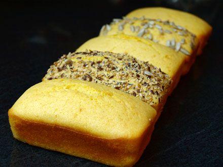 Pain à la farine de maïs sans gluten