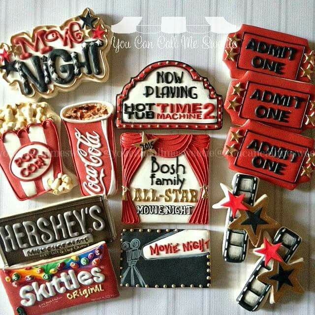 You Can Call Me Sweetie: Movie night. Film. Theater. Oscars.
