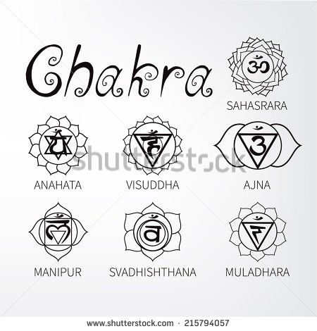 chakra symbols coloring pages - photo#41