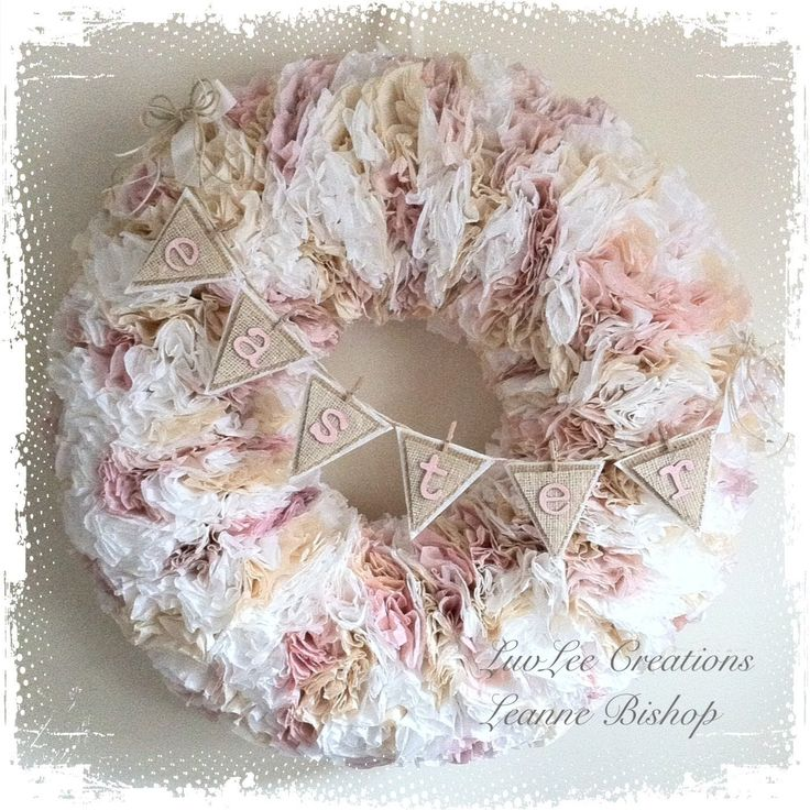 Hi everyone!!! Long time no see!!! After many requests...I decided to post this video on how I created this shabby chic coffee filter wreath (bare with me on...