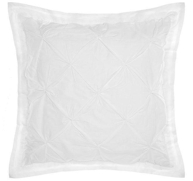 Islet European Pillowcase White   Manchester Warehouse