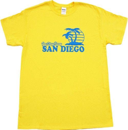Anchorman You Stay Classy San Diego T-shirt