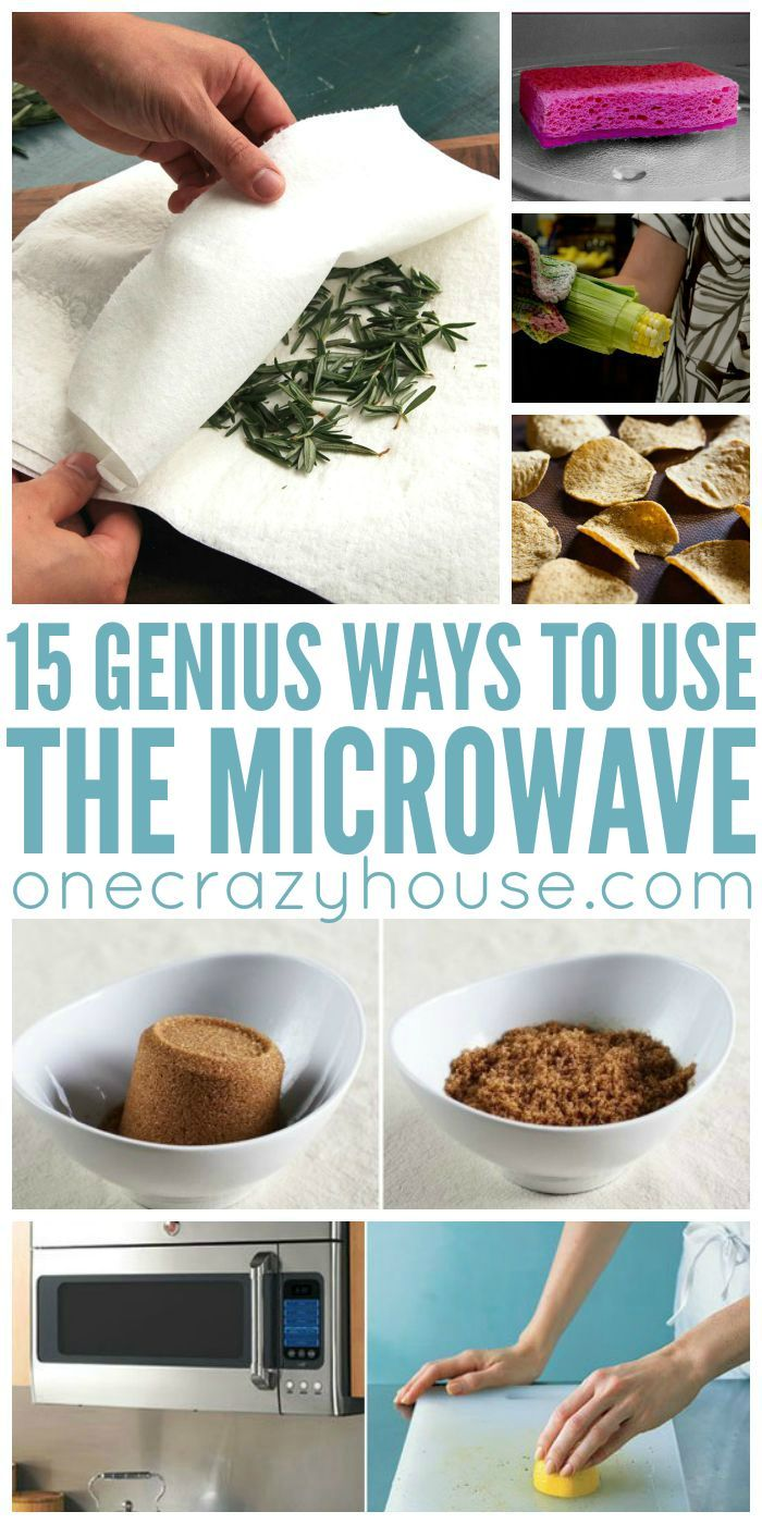 Clever ways to use your microwave