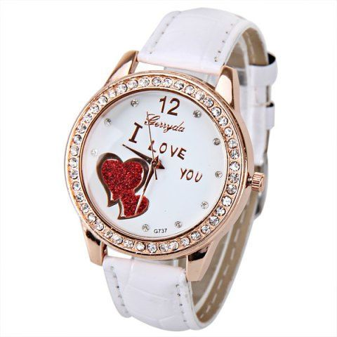 GET $50 NOW | Join RoseGal: Get YOUR $50 NOW!http://m.rosegal.com/watches/quartz-watch-with-small-diamond-dots-indicate-leather-watch-band-hearts-pattern-dial-for-women-479458.html?seid=8546650rg479458