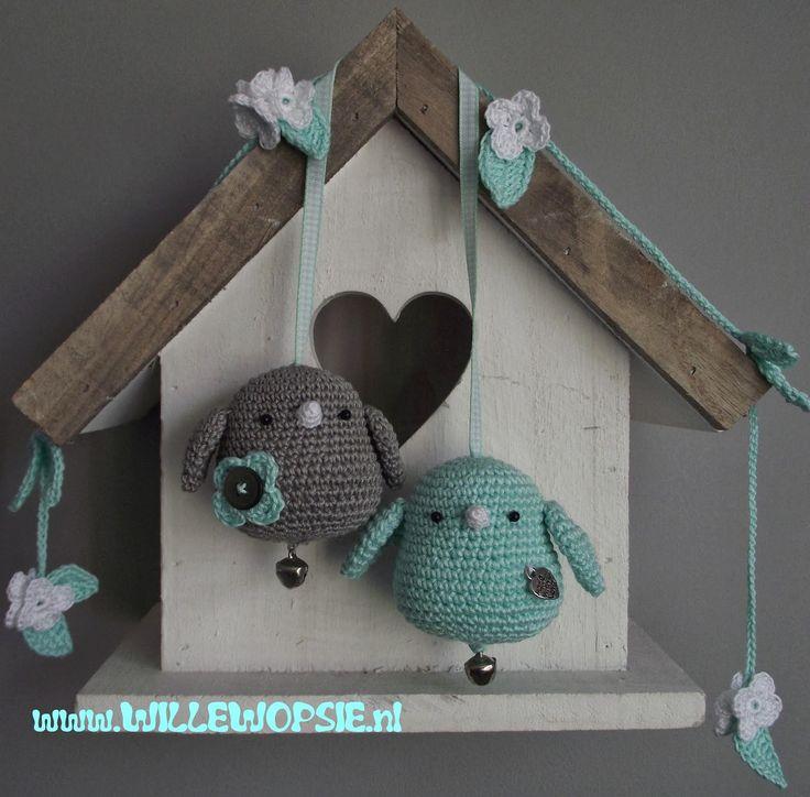 Little Birdie Puffies  #crochet #amigurumi