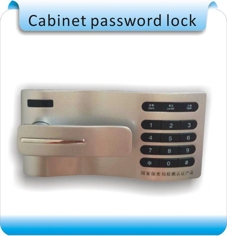 free shipping DIY metal 10 digits keyboard password contol lock  drawer Locker/password locker  , use 2XAAA battery #Affiliate