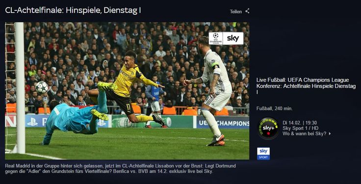 News: Benfica Lissabon vs. Borussia Dortmund: Livestream der Champions League hier schauen - http://ift.tt/2kvZgAV #nachrichten