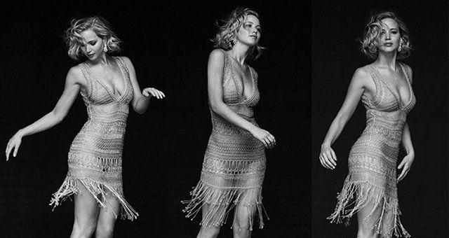 Дженнифер Лоуренс на обложке Vanity Fair