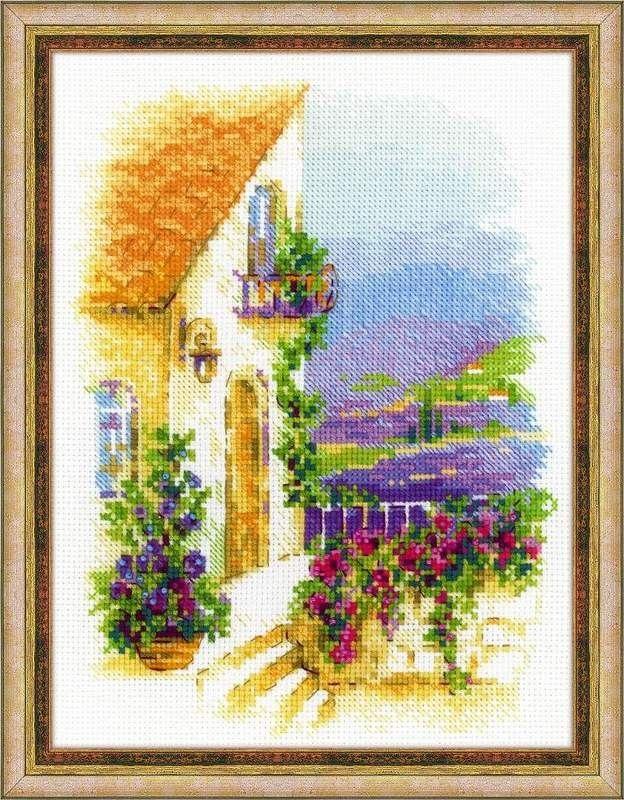 Набор для вышивания Риолис 1689 Прованская улочка