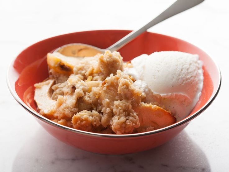 Old-Fashioned Apple Crisp - Ina Garten