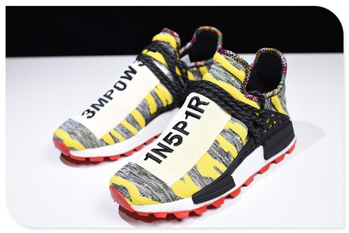 56ff9a99036a2 2019 Pharrell x adidas Afro NMD Hu Core Black Red BB9527 Online  www.nmdhumanrace2019