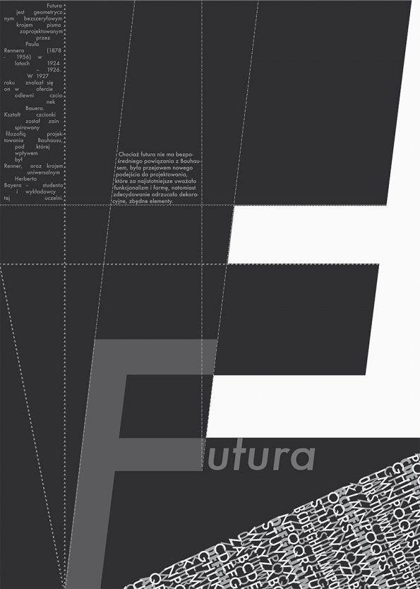Futura, typographic poster