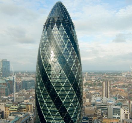 Will be conducting presentations here in The Gherkin, London,  in June 2012