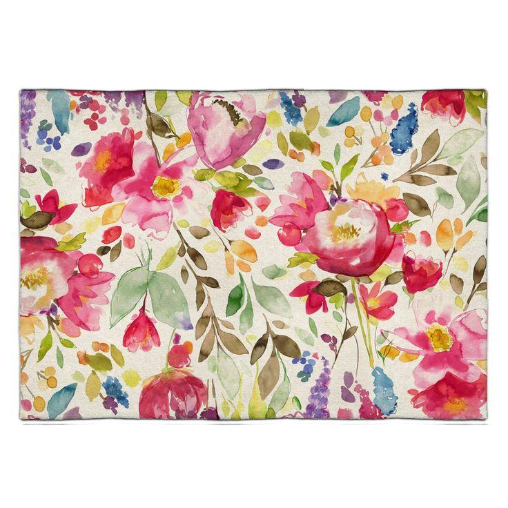 Devon Rug - Modern Wool Rugs - Floral Rugs | bluebellgray