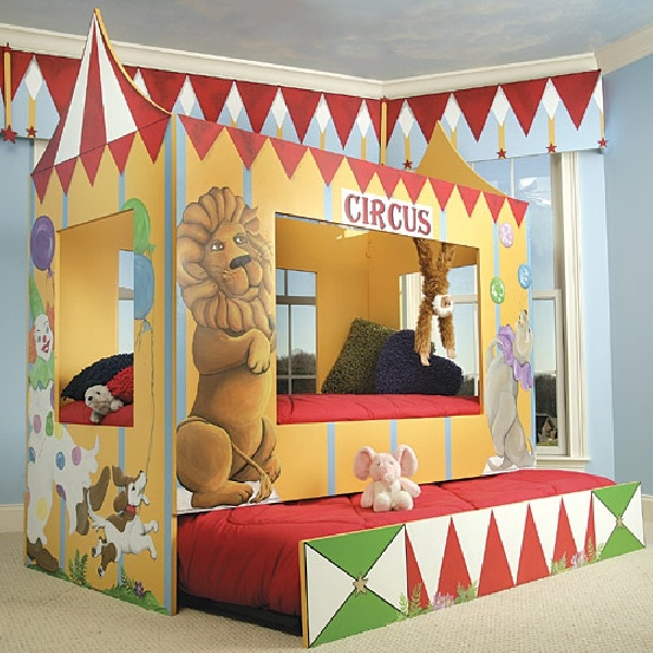Circus Room For Kids. Good For Imagination Playing!