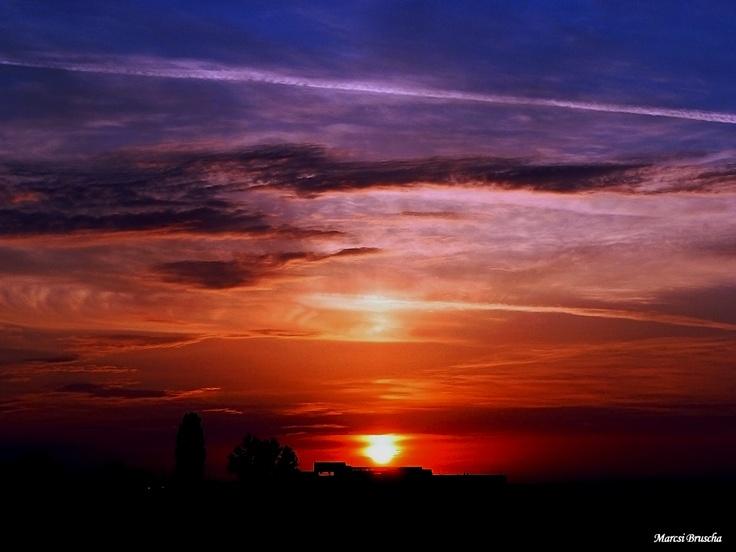 Sunrise   before DHL