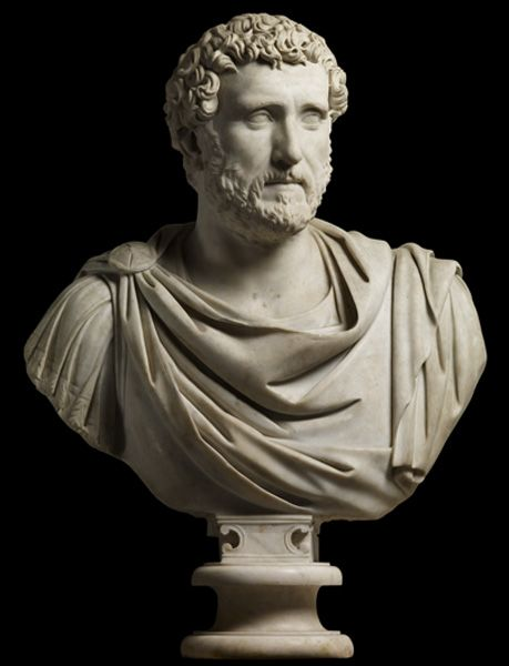 Portrait of Antoninus Pius                                                                              Sculpture                                                                            138-161 AD                                                                             Marble