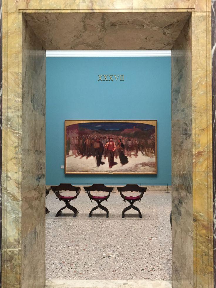 "Giuseppe Pellizza da Volpedo""Fiumana""Pinacoteca di Breramy shot"