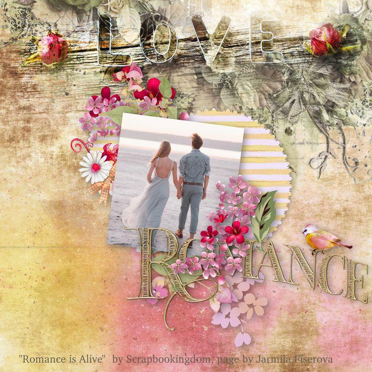 """Romance Is Alive"" by Scrapbookingdom, https://www.etsy.com/listing/546093024/romantic-digital-scrapbook-kit-romance?ref=shop_home_active_1, photo Pixabay"