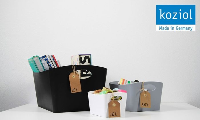 What's in your Boxxx? Storage solutions available in assorted styles, sizes, and colors at koziolusa.com