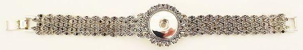 Snap Jewels Marcasite Elegance Bracelet