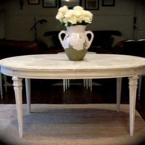 Gustavian Dining Table And Chairs Gustavian Oval Extending Table