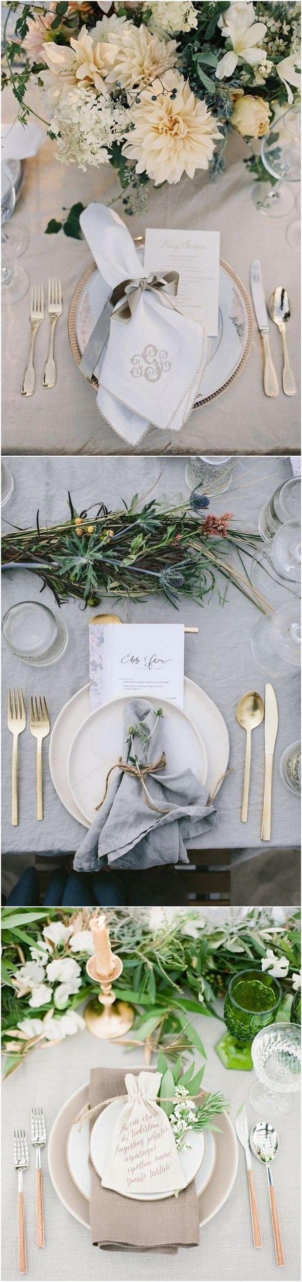 Wedding decorations 2019   Trending u  Elegant Neutral Color Wedding Ideas  Bridal