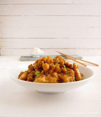 La cucina di Anisja: Pollo all'arancia e gamberoni in agrodolce per l'Abbecedario culinario mondiale