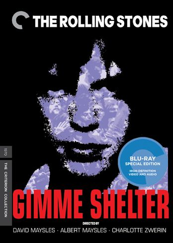 Gimme Shelter (1970) - No. 99 [Blu-ray cover by Frank Kozik]