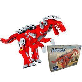 ¡Construye tu propio dinosaurio! Incluye 492 piezas y es compatible con Lego. Más info y compra en: http://www.elosito.com/lego-construccion-otras-construcciones/9827-ausini-dinosaurio-492-piezas-6931601758608.html