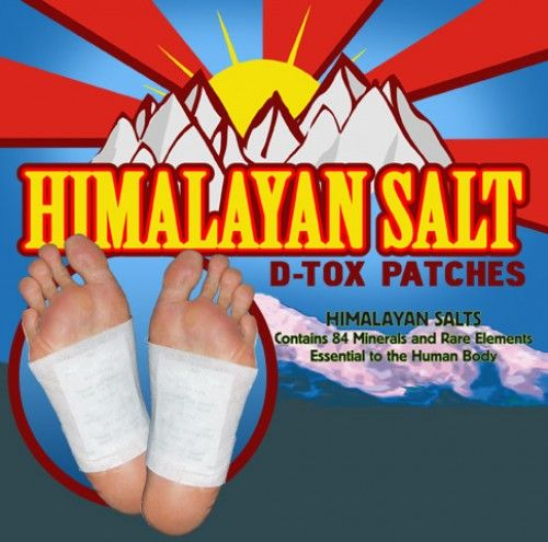 Himalayan+Salt++Magnetic+Detox++Foot+Patches+