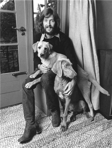 Barrie Wentzell | Eric Clapton at home