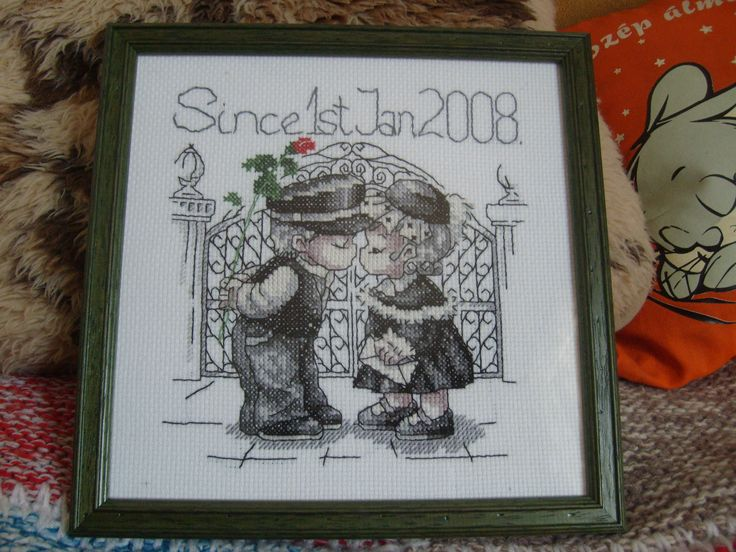 Gift for my ex-boyfriend, when we had our 2. anniversary (2010)