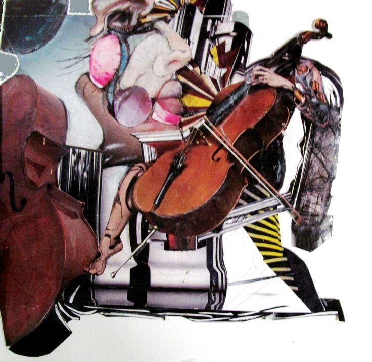 ''Ver la musica'' Collage