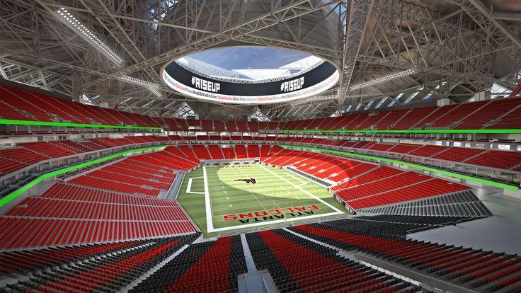 Futur #stade d'Atlanta - #NFL #Stadium #Arenas #Digisport #Falcons