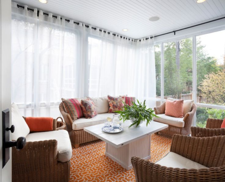 17 Best Images About Sunroom Vintage Style W Color On