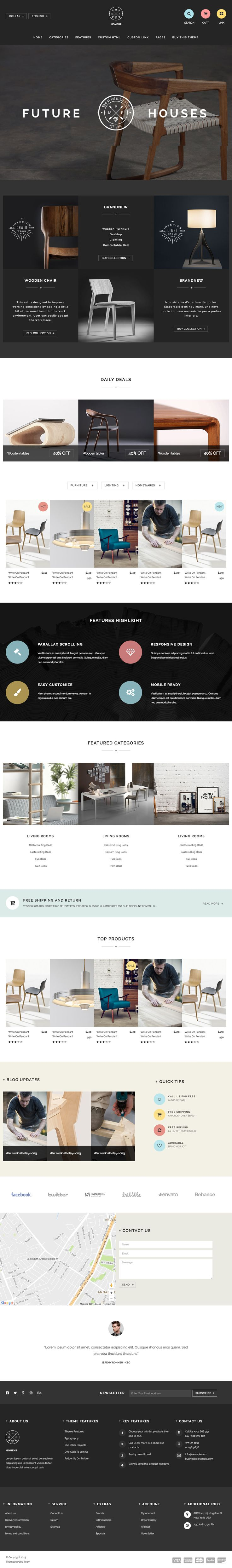 """Moment - Supreme Furniture Template"" by Thematic Webs"