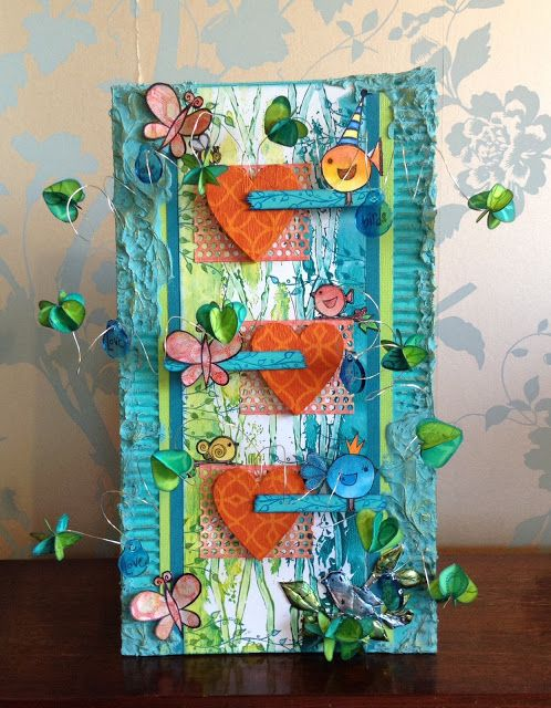 PaperArtsy: 2016 #2 A Little Bird Told Me {by Chris Cresswell}
