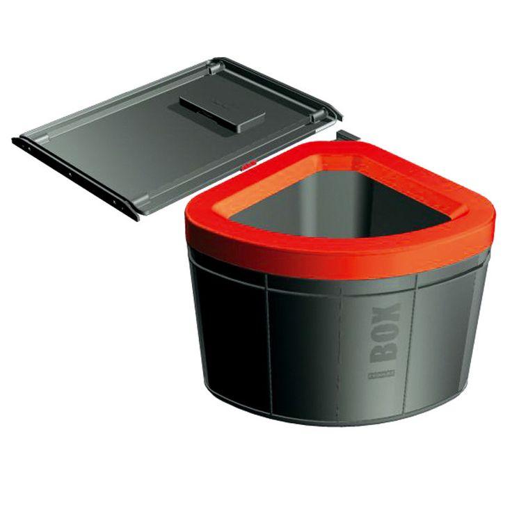 Franke Soft-close Kitchen Waste Sorter Solo 50-Mybathroom.co.uk