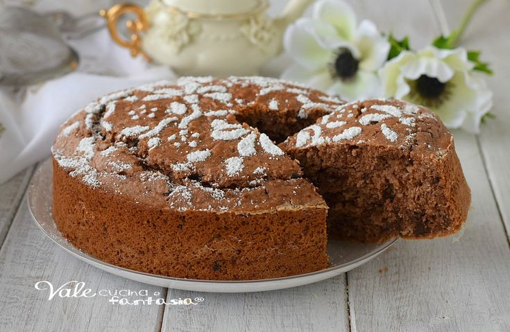 TORTA NUTELLA E COCCO SENZA UOVA ricetta dolce facile e morbidissima, una torta semplice da preparare e golosissima, ricetta senza uova