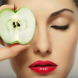 قناع التفاح لعلاج مشاكل البشرة
